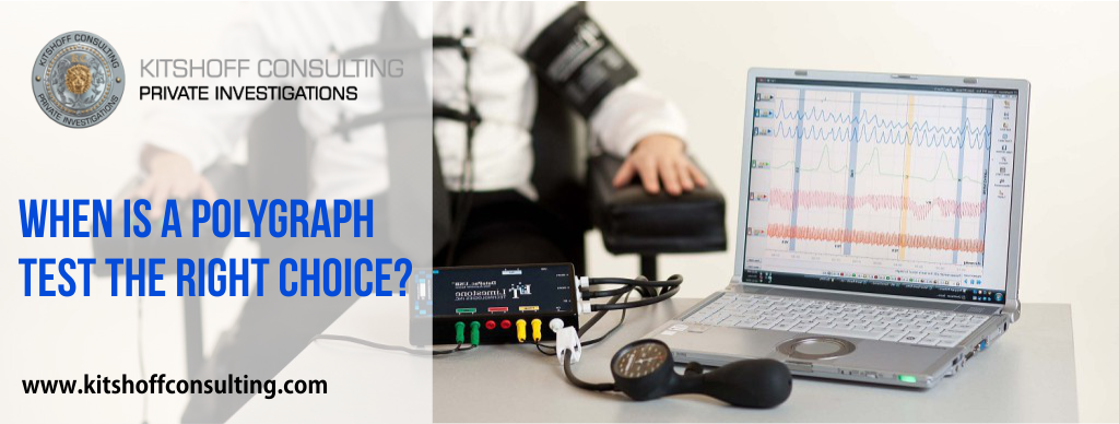 When to use a polygraph test: Polygraph test